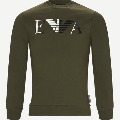 Crew Neck Sweatshirt Regular | Crew Neck Sweatshirt | Grøn