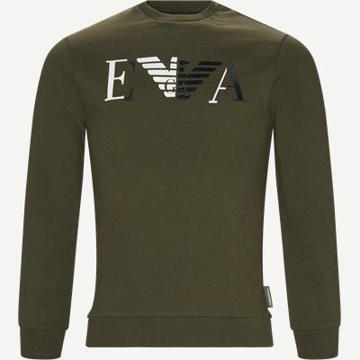 Crew Neck Sweatshirt Regular | Crew Neck Sweatshirt | Grøn