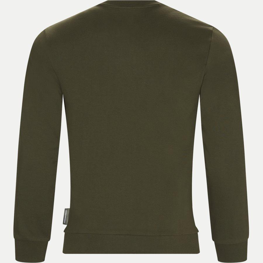 6Z1MB3 1J07Z - Crew Neck Sweatshirt - Sweatshirts - Regular - GRØN - 2