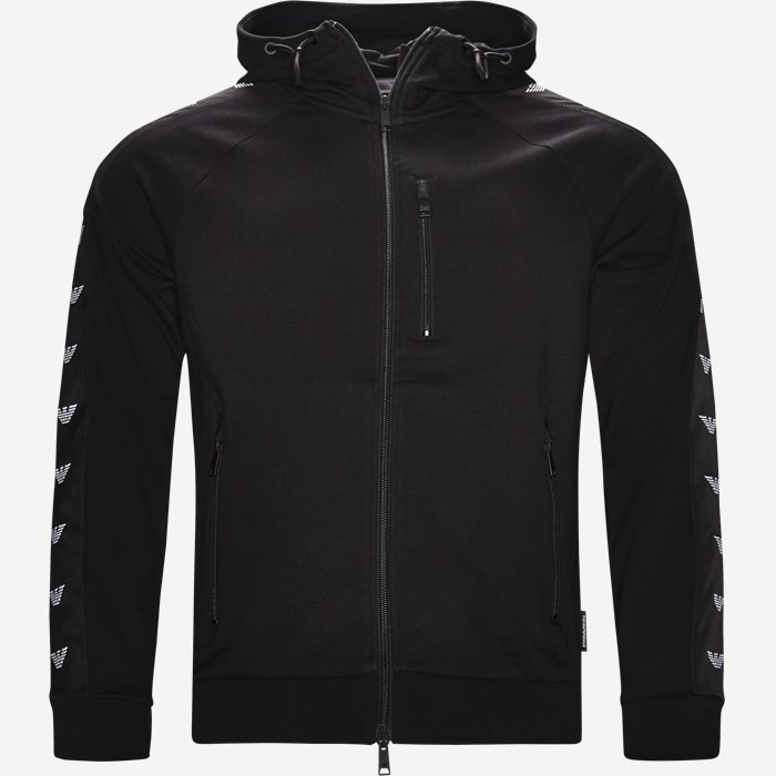 Full Zip Hoodie - Sweatshirts - Regular - Sort