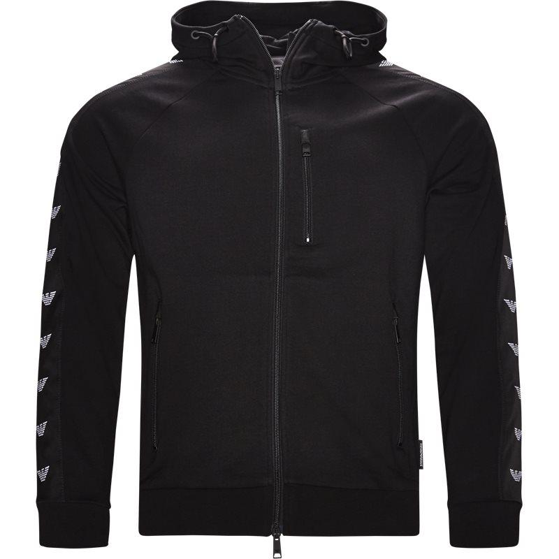 Armani jeans - full zip hoodie fra armani jeans på kaufmann.dk