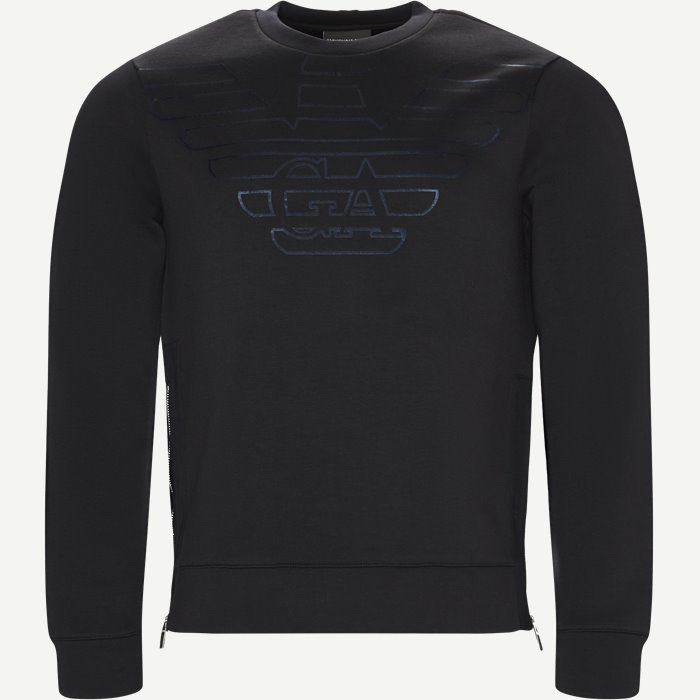 Sweatshirt - Sweatshirts - Regular - Blå