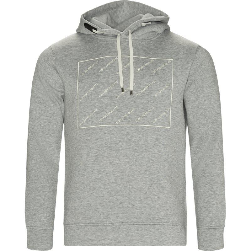 Armani jeans - hoodie sweatshirt fra armani jeans fra kaufmann.dk