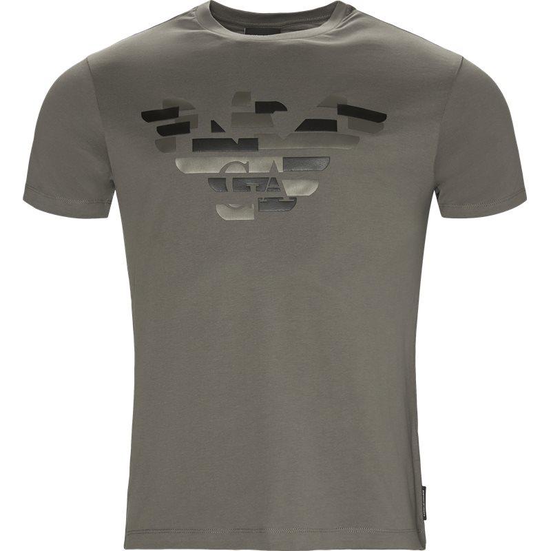 armani jeans – Armani jeans - crew neck t-shirt fra kaufmann.dk