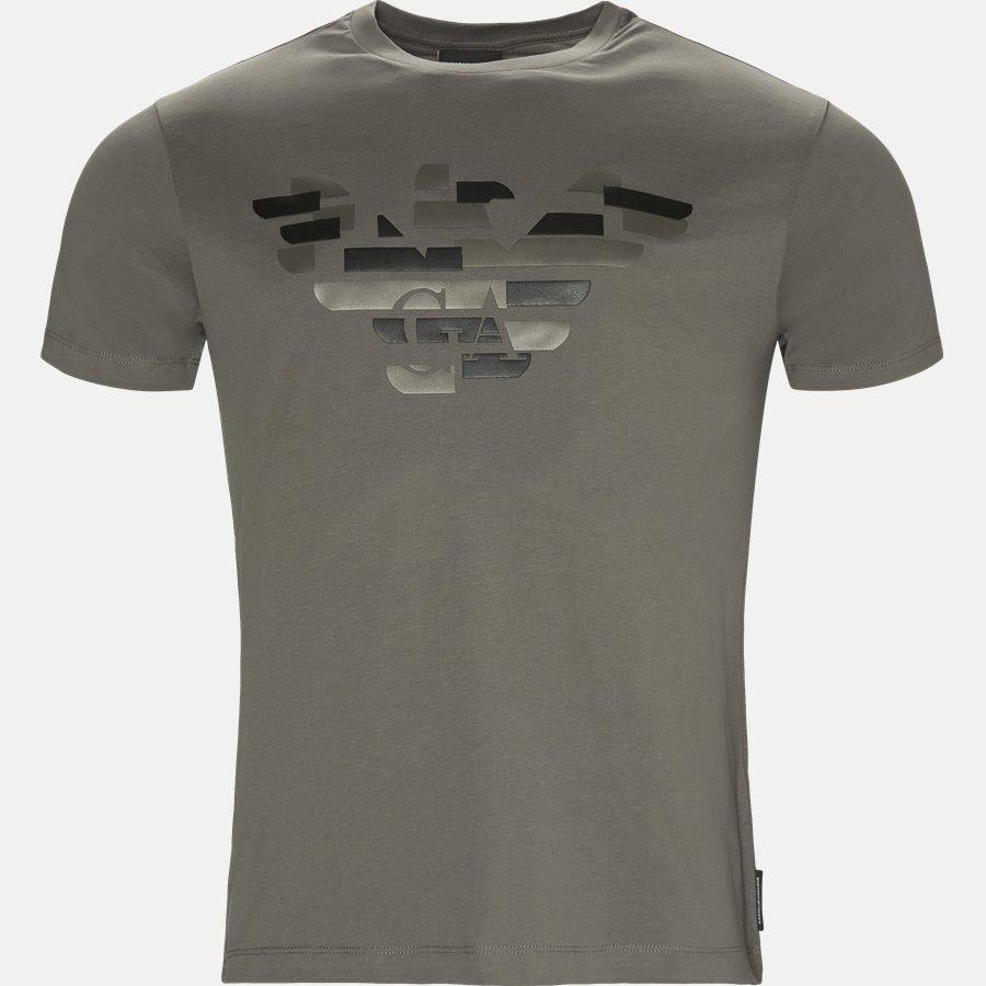 6Z1TF7 1J30Z - Crew Neck T-shirt - T-shirts - Regular - GRÅ - 1