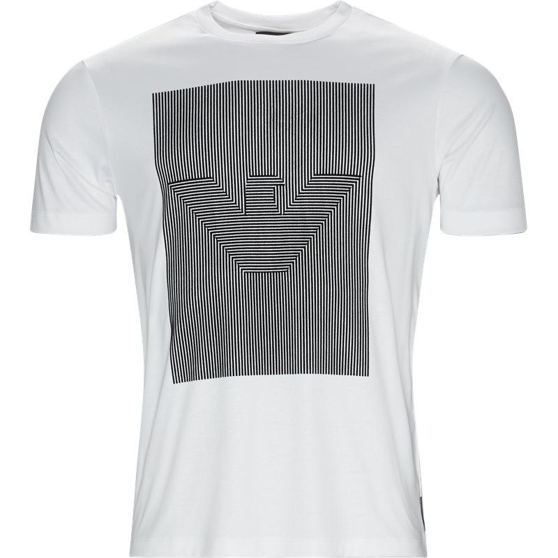 armani jeans – Armani jeans - crew neck logo t-shirt fra kaufmann.dk
