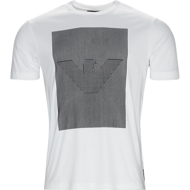 armani jeans – Armani jeans - crew neck logo t-shirt på kaufmann.dk