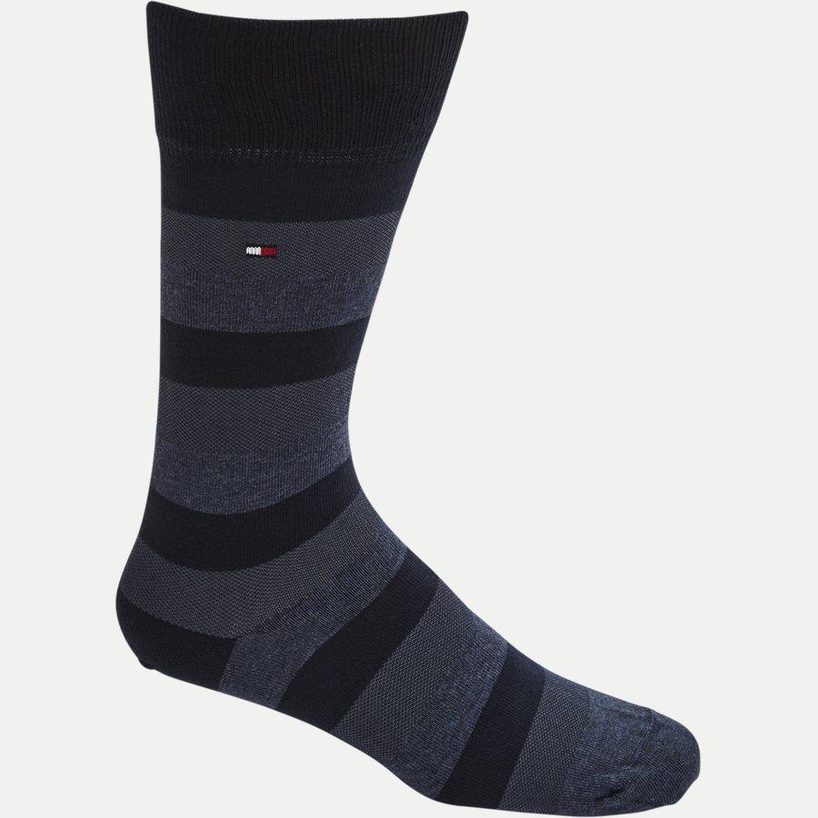 482002001 - 4-Pack Gift Box Socks - Strømper - BLÅ - 4