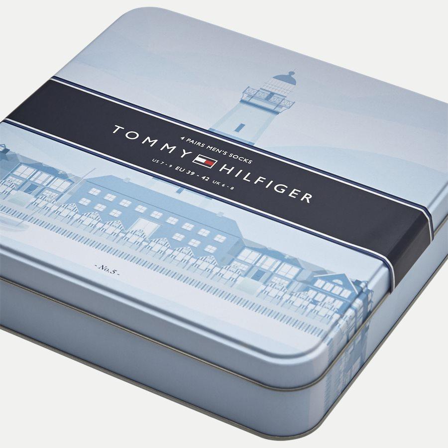 482002001 - 4-Pack Gift Box Socks - Strømper - SORT - 6