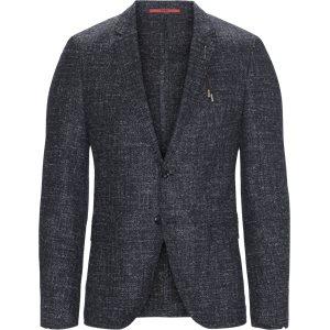 Anfred Unconstructed Blazer Ekstra slim fit | Anfred Unconstructed Blazer | Blå