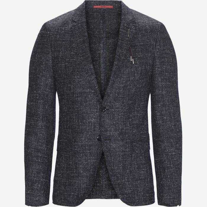 Anfred Unconstructed Blazer - Blazer - Ekstra slim fit - Blå