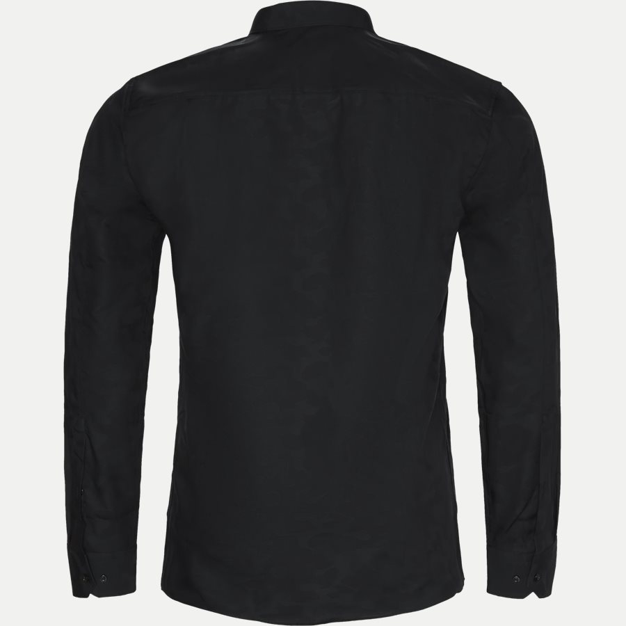 50393595 ELISHA - Elisha Camo Skjorte - Skjorter - Ekstra slim fit - SORT - 2