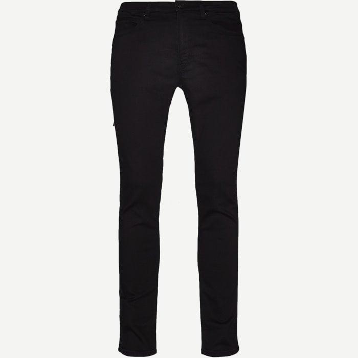 Hugo734 Jeans - Jeans - Skinny fit - Sort