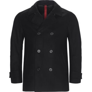Balno Double-Breasted Jacket Slim | Balno Double-Breasted Jacket | Sort