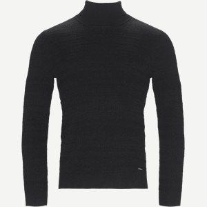 Smaxin Turtleneck Sweater Ekstra slim fit   Smaxin Turtleneck Sweater   Grå