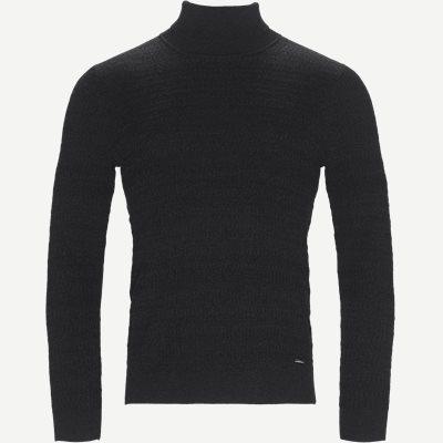 Smaxin Turtleneck Sweater Ekstra slim fit | Smaxin Turtleneck Sweater | Grå