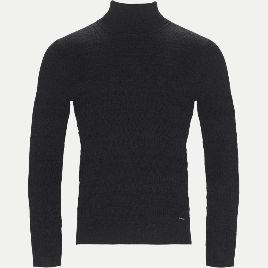 50391736 SMAXIM - Smaxin Turtleneck Sweater - Strik - Ekstra slim fit - KOKS - 1