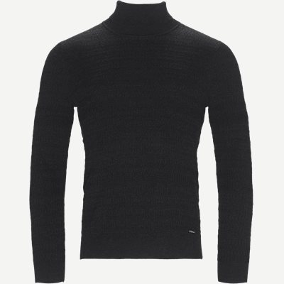 Smaxin Turtleneck Sweater Ekstra slim fit | Smaxin Turtleneck Sweater | Grå