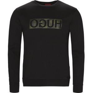 Dicago-U2 Sweatshirt Regular | Dicago-U2 Sweatshirt | Sort