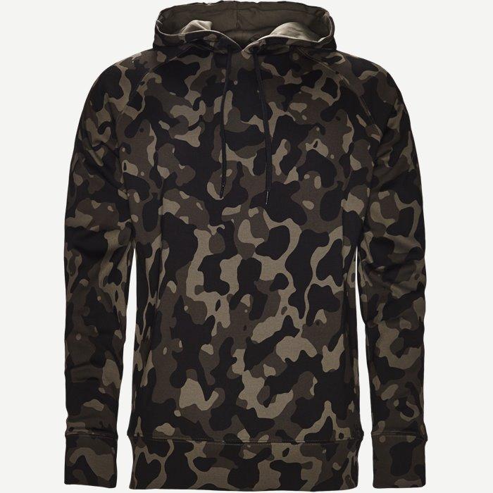 Dayfun Camo Sweatshirt - Sweatshirts - Regular - Army
