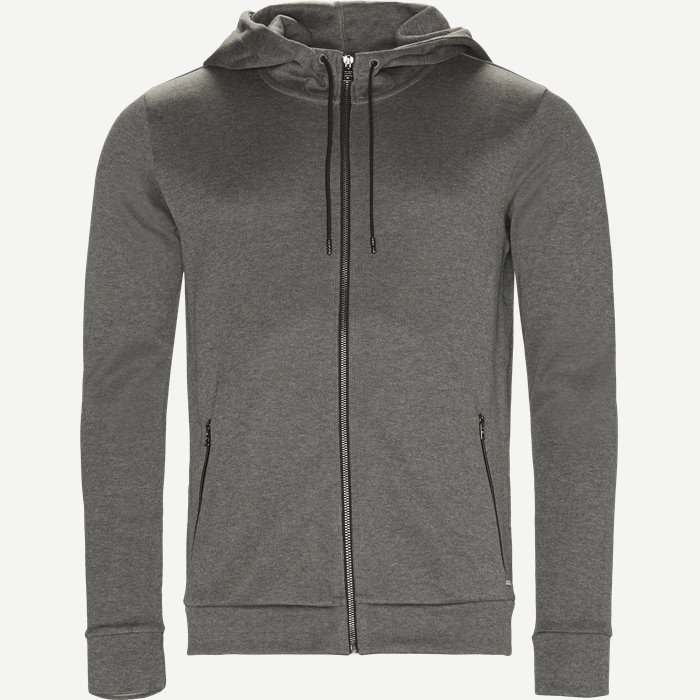 Dabasti Hooded Sweatshirt - Sweatshirts - Regular - Grå