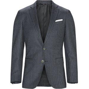 Hutsons4 Blazer Slim | Hutsons4 Blazer | Blå