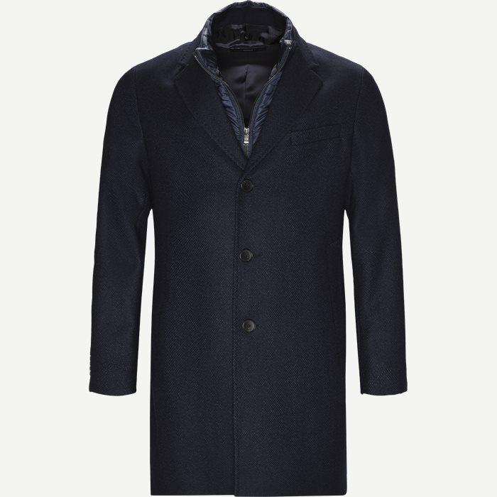Nadim4 Wool Coat - Jakker - Slim - Blå