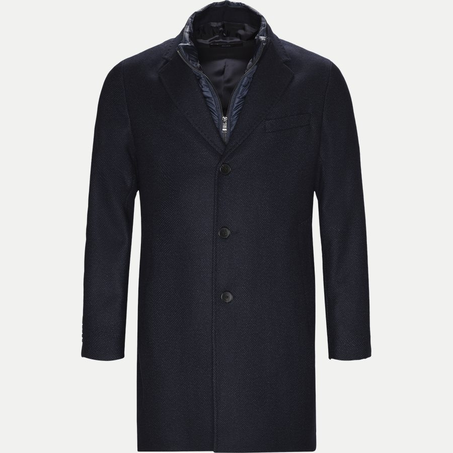 50395995 NADIM4 - Nadim4 Wool Coat - Jakker - Slim - NAVY - 1