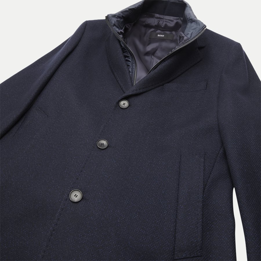 50395995 NADIM4 - Nadim4 Wool Coat - Jakker - Slim - NAVY - 5