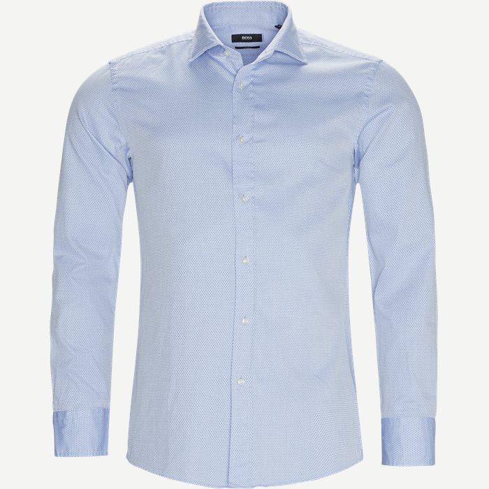 Jan Skjorte - Skjorter - Slim - Blå