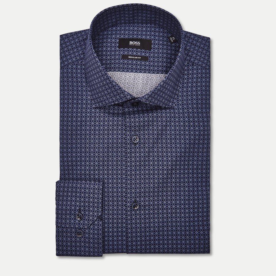 50395742 GORDON - Gordon Skjorte - Skjorter - Regular - NAVY - 3