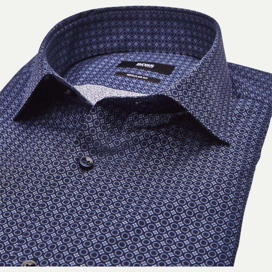 50395742 GORDON - Gordon Skjorte - Skjorter - Regular - NAVY - 4