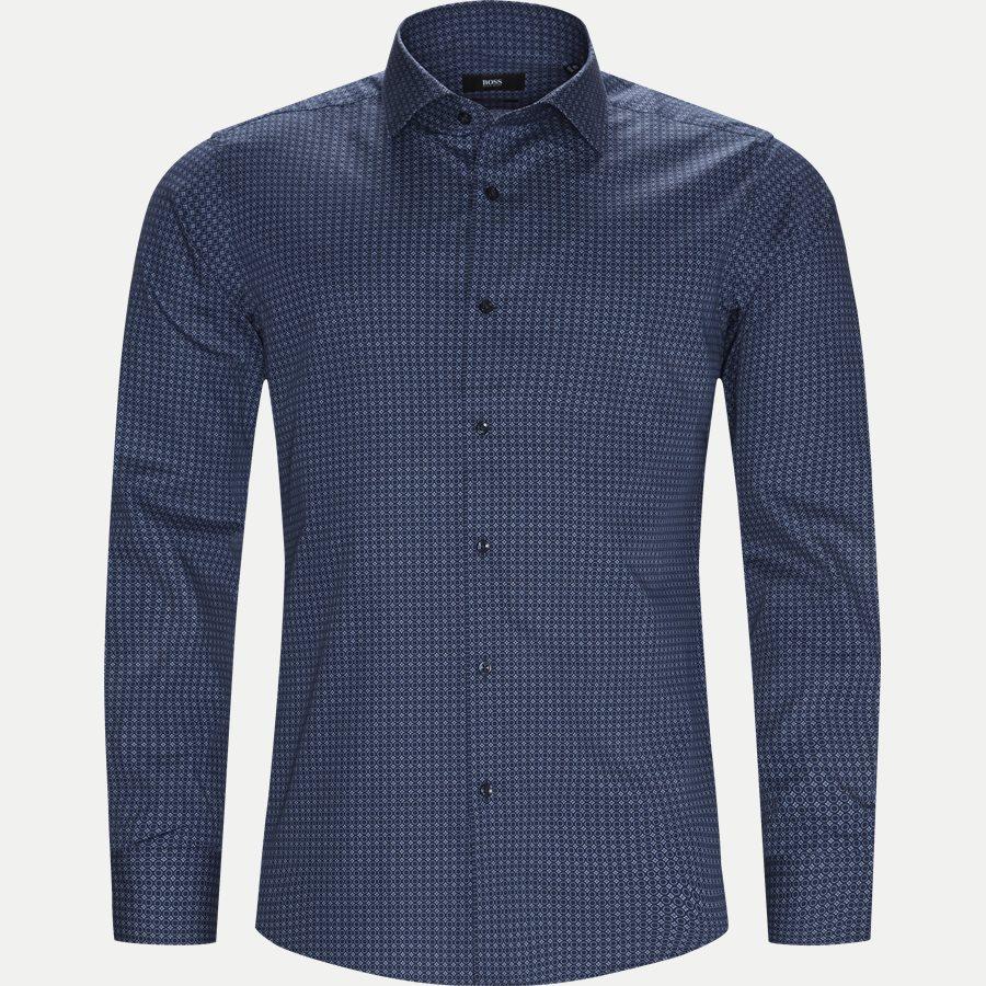 50395742 GORDON - Gordon Skjorte - Skjorter - Regular - NAVY - 1