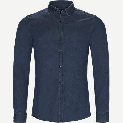 Rikard Denim Skjorte Slim | Rikard Denim Skjorte | Blå