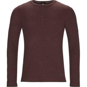 Trix Langærmet T-shirt Slim | Trix Langærmet T-shirt | Bordeaux