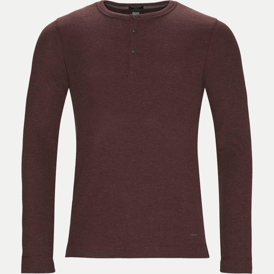 50378288 TRIX - Trix Langærmet T-shirt - T-shirts - Slim - BORDEAUX - 1