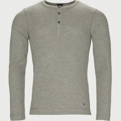 Trix Langærmet T-shirt Slim | Trix Langærmet T-shirt | Grå