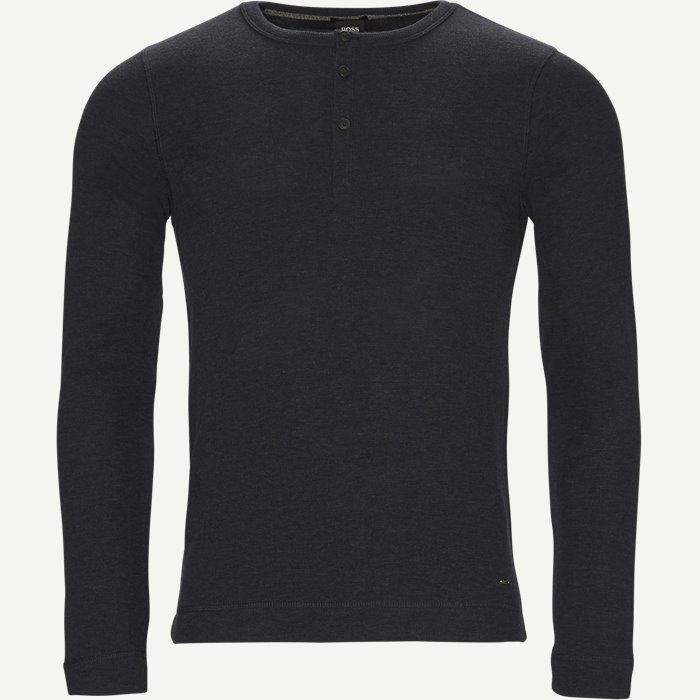 Trix Langærmet T-shirt - T-shirts - Slim - Blå