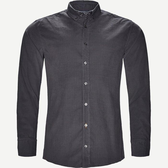 Mabsoot Skjorte - Skjorter - Slim - Grå