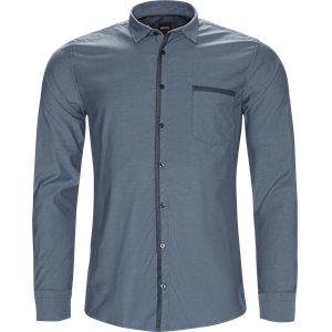 Magenton Skjorte Slim | Magenton Skjorte | Blå