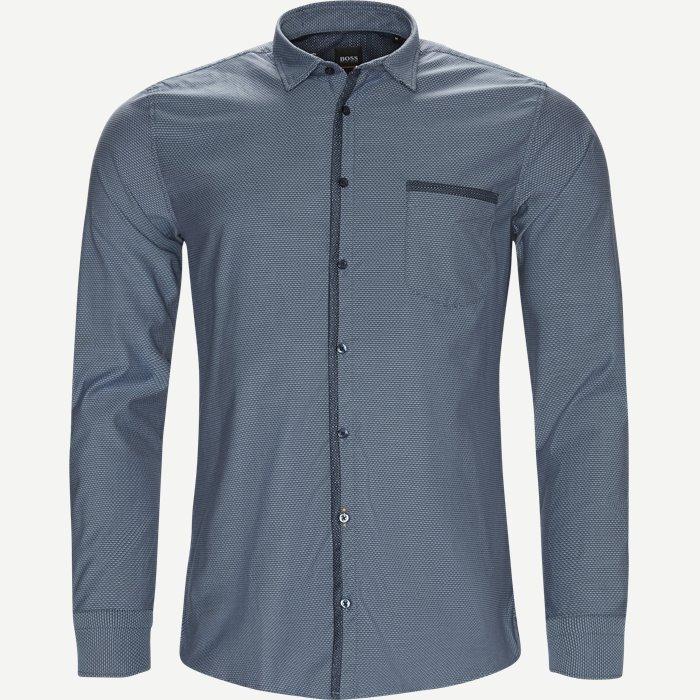 Magenton Skjorte - Skjorter - Slim - Blå