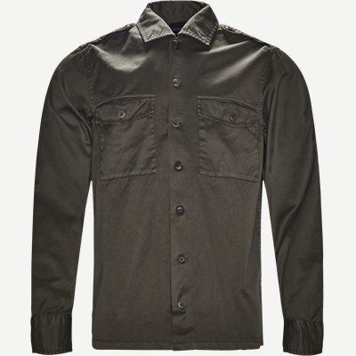 Lovel Skjorte Regular | Lovel Skjorte | Army