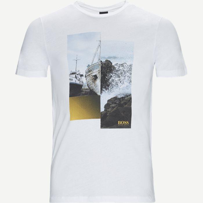Tlax2 Tee - T-shirts - Regular - Hvid