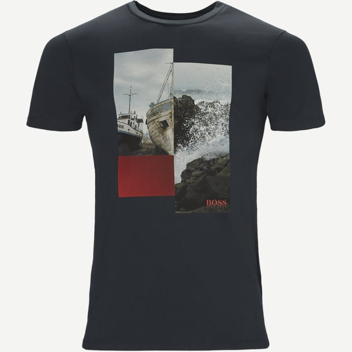 Tlax2 Tee - T-shirts - Regular - Blå