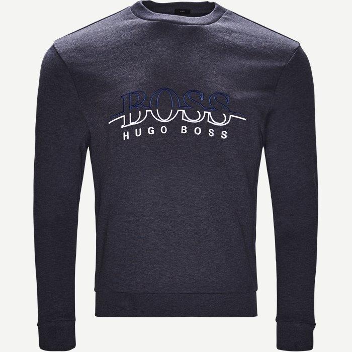 Salbon Sweatshirt - Sweatshirts - Slim - Denim