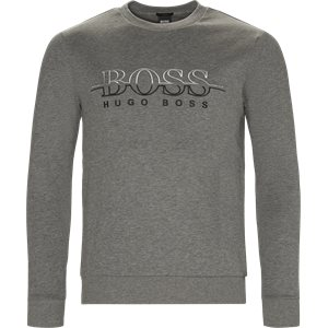 Salbon Sweatshirt Slim | Salbon Sweatshirt | Grå