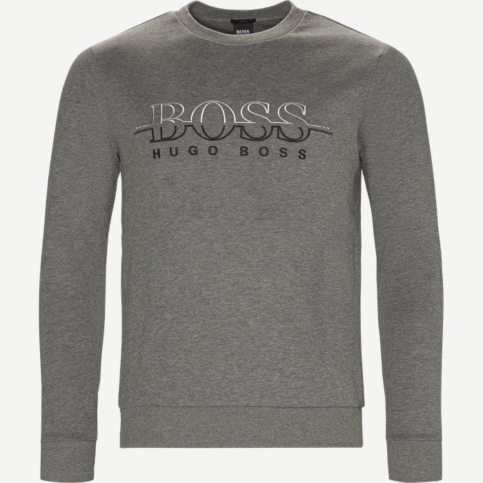 Salbon Sweatshirt - Sweatshirts - Slim - Grå