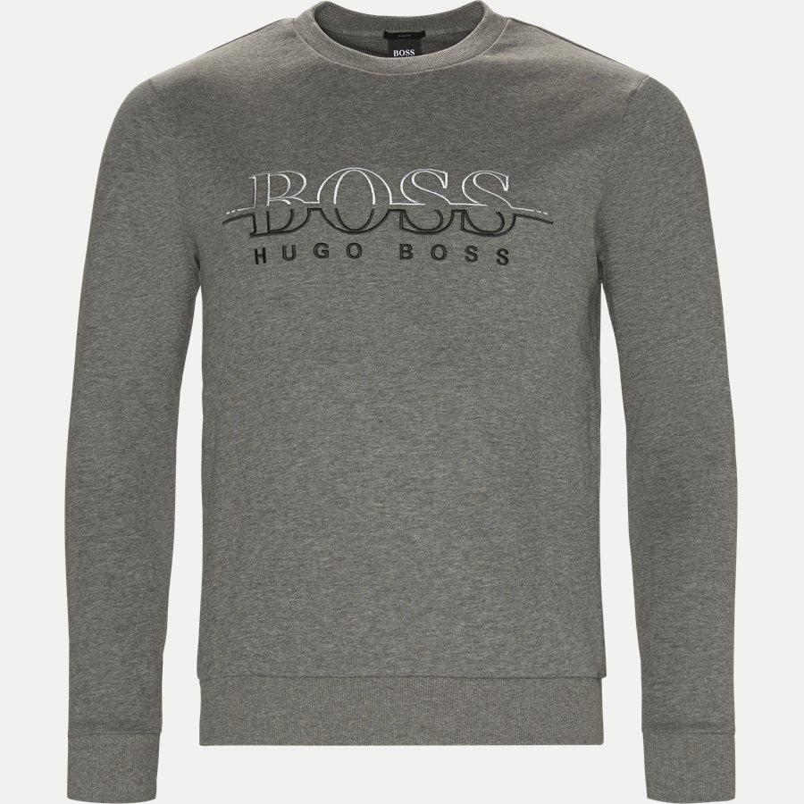 50387162 SALBO - Salbon Sweatshirt - Sweatshirts - Slim - GRÅ - 1