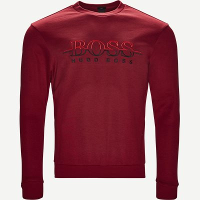 Salbon Sweatshirt Slim | Salbon Sweatshirt | Rød
