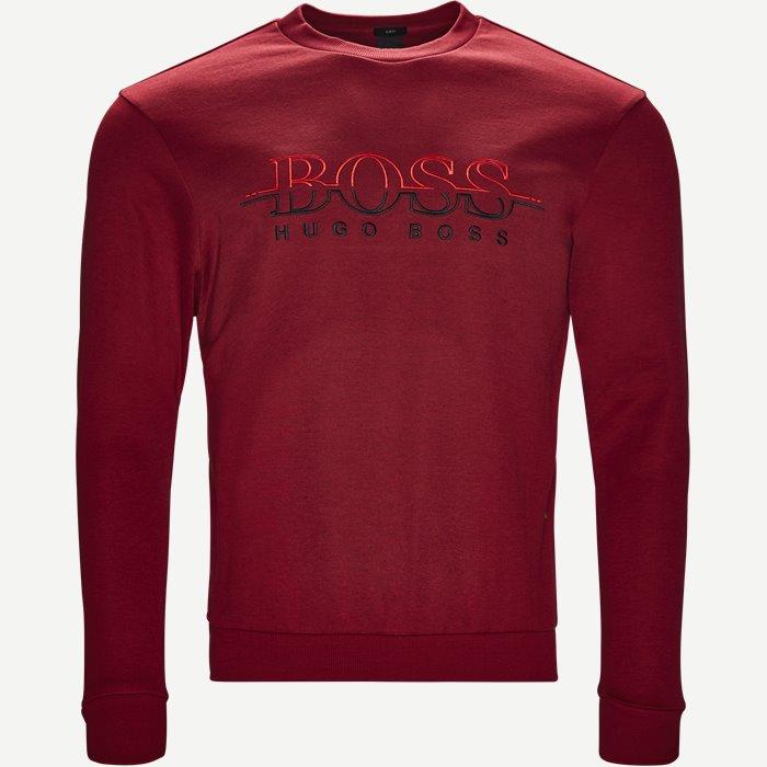 Sweatshirts - Slim - Röd
